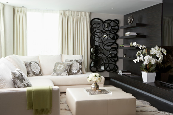 Anna Dodonova of Anna Casa Interiors on how to add glamorous touches - Photo from ACHICA Living