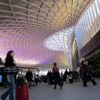 The splendid new Kings Cross station - Photo by HannahWebb