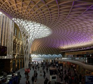 King's Cross Western Concourse - Photo by Peter G Trimming
