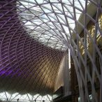 New Kings Cross station - Photo by Peter Burgess