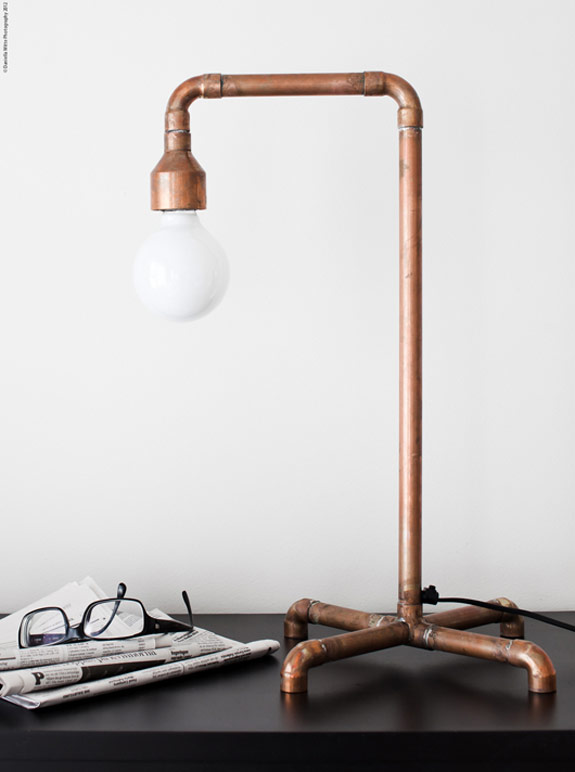 Pipe lamp by Daniella Witte - Design Squish