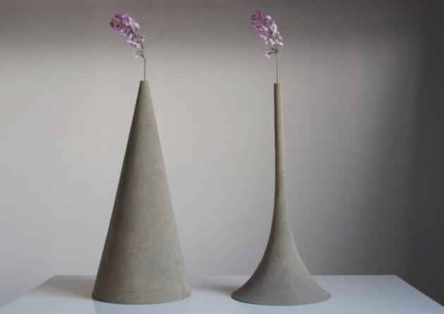 Sand Vases by Yukihiro Kaneuchi - Image taken from contemporist.com