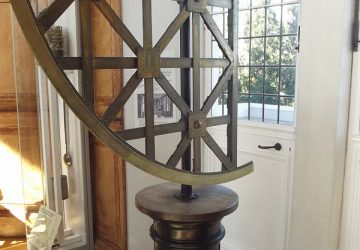 Flamsteed House - Royal Observatory Greenwich - Octagon Room - quadrant - Photo by Elliott Brown