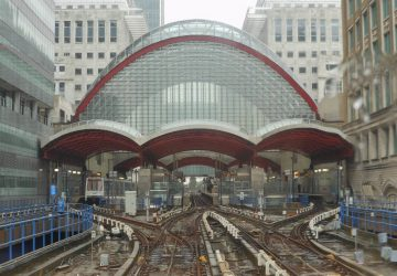Canary Wharf Station - Photo by Michael Coghlan