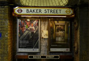 Baker Street Tube Station - Photo by Oxfordian