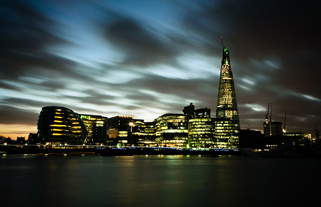 The Shard and London skyline - Photo by markspokes49