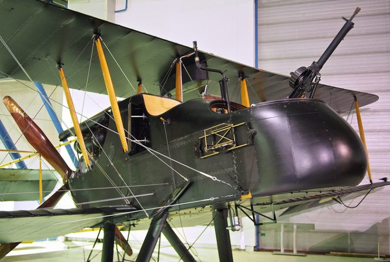 Royal Aircraft Factory FE2b - Photo by David Farquhar