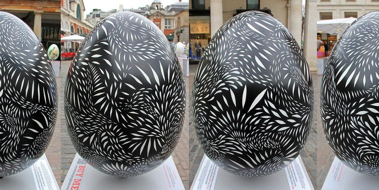 The Big Egg Hunt 2013 - Covent Garden, London - 9. Chimera by Mireille Fauchon