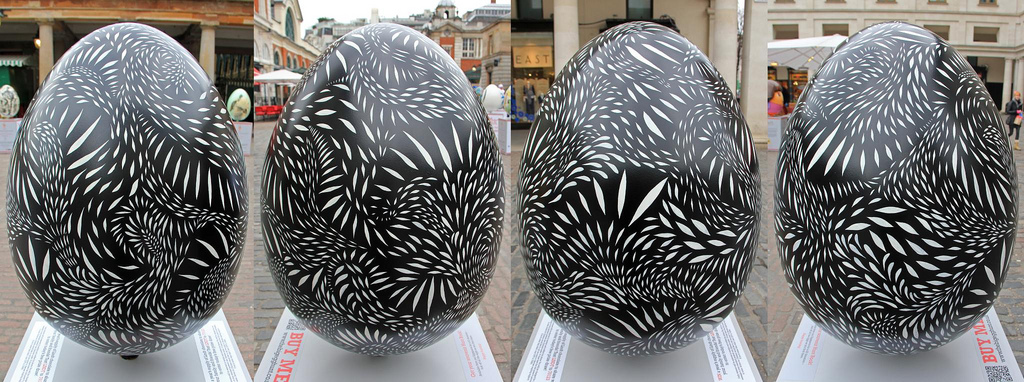 The Big Egg Hunt 2013 - Covent Garden, London - 59. Chimera by Mireille Fauchon
