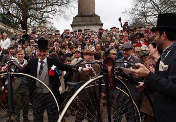 London Tweed Run, Group Photo - Photo by Matt S