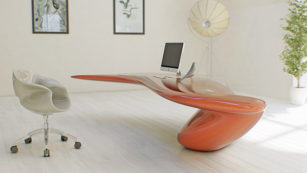 Futuristic Desk - Nüvist