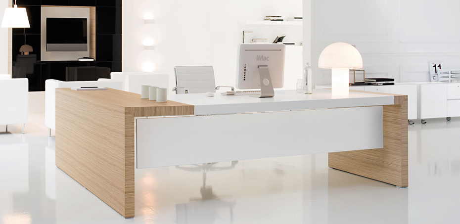 Kyo design executive desk collection by Martex
