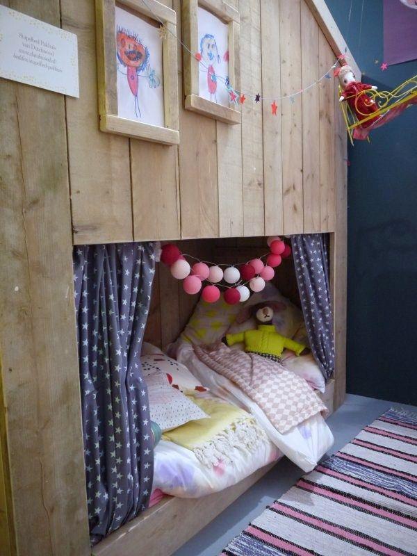 Maison maisonnette lit pour enfant