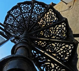 Spiral staircase - Photo by Martin Cooper Ipswich