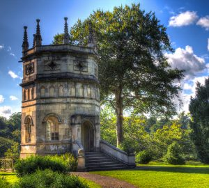 The Octagon Tower in Studley Royal Park - Photo by Karl Davison