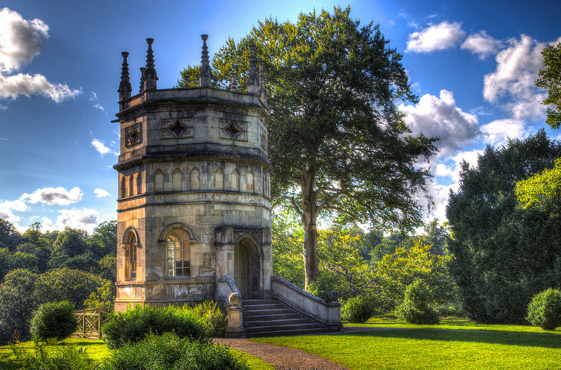 The Octagon Tower Studley Royal Park