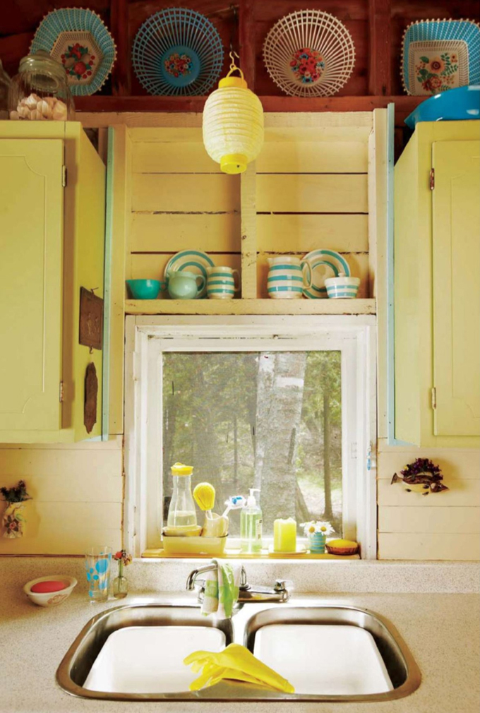 House of Turquoise: Sunny Yellow Cottage