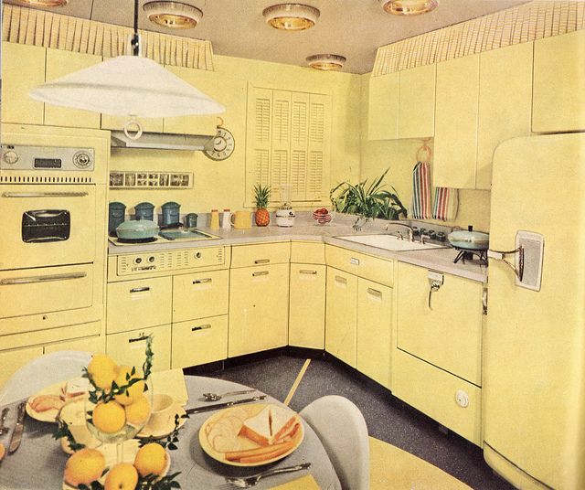 Vintage kitchen - photo by Ethan