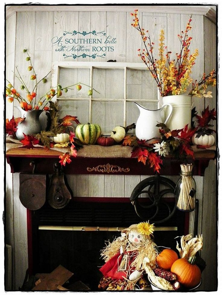 Autumn Decor - Photo by hometalk.com