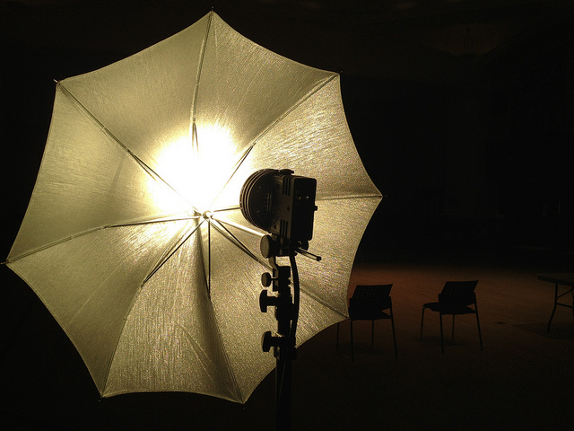 Key lighting - Photo by Mark Blevis