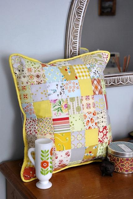 Summerhouse Pillow by Katherine Codega