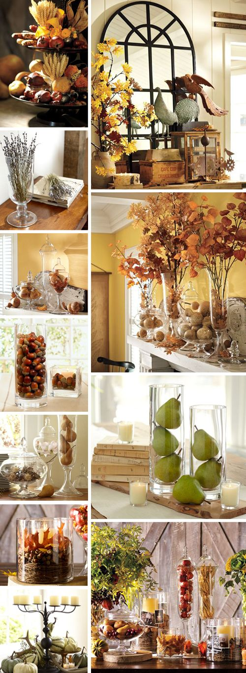 Autumn Decorating Ideas - nancycreative.com