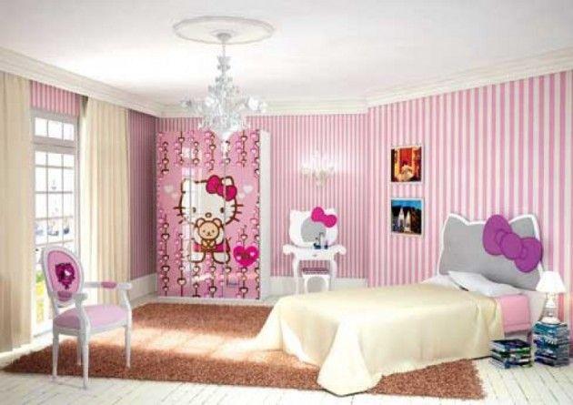 Hello Kitty kids bed