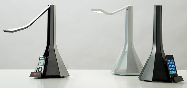 Diva Table lamp - Speaker and radio - Rotaliana - madeindesign.co.uk
