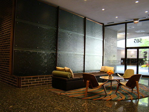 Reception area - Photo by Lake Point Tower