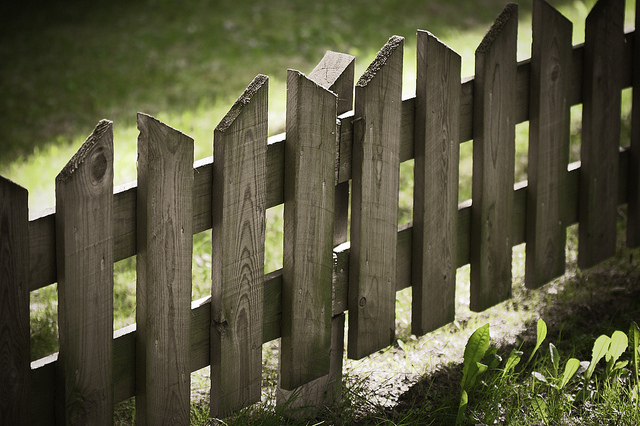 Wooden fence - Photo by Antti-Jussi Kovalainen