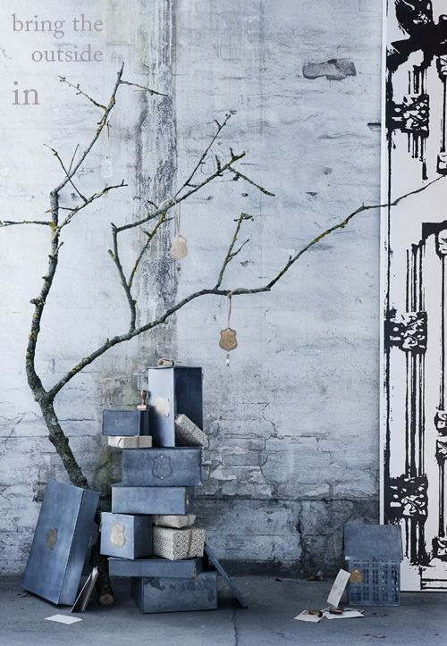 Walther & Co via Decor8 - Twig tree