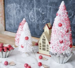 Christmas trees - ellaclaireinspired.com