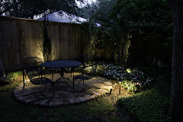 Outdoor lighting on patio - Photo by OLP of San Antonio & the Hill Country, LLC