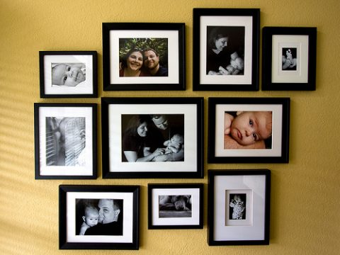 Photo frames with family pics - Photo by Travis Isaacs