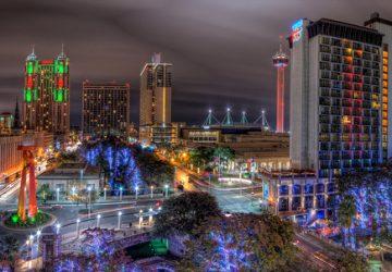 San Antonio (Texas) lights - Photo by Brandon Watts