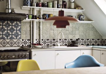 Kitchen pathwork tiling