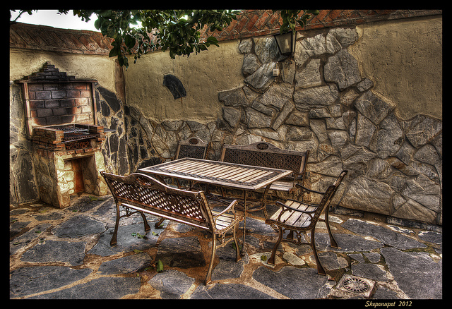 Patio - Photo by Luis Javier Gala Orgaz