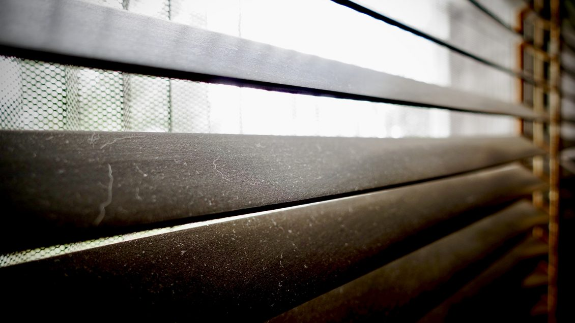 Dirty Venetian Blinds