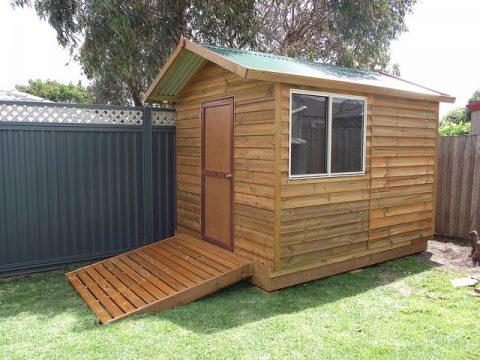 Garden shed - Photo by Matt's Homes
