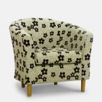 Tub chair - Woodstock Black