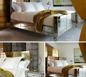 Valentino mirror bed