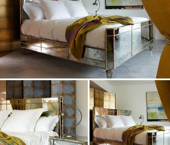 Valentino mirror bed