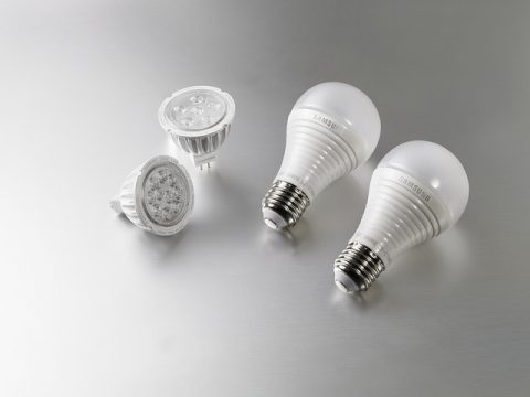 LED light bulbs - Photo by Samsung