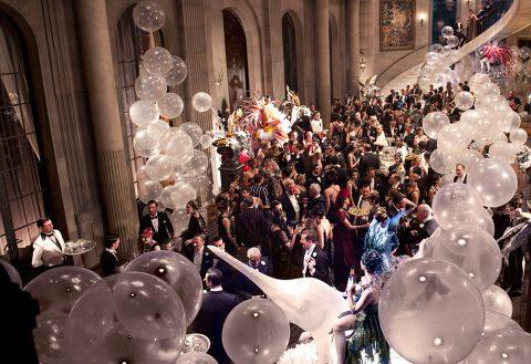 The Great Gatsby ballroom