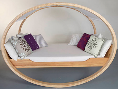 Cradle bed