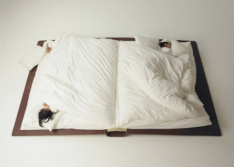 Childrens book bed