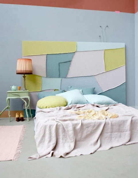 Pastel bedroom - Photo from Faust @ Pinterest