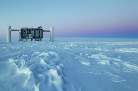 IceCube Neutrino Observatory, South Pole, Antarctica