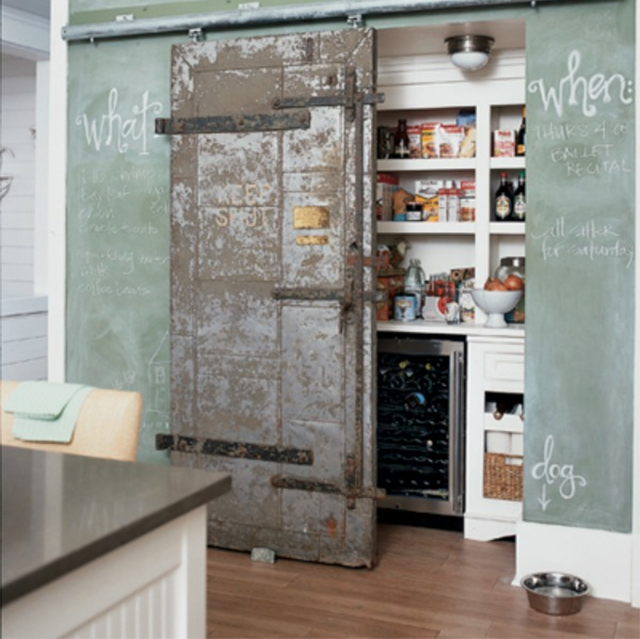 Sliding Larder Door & Sliding Larder Doors u0026 [Kitchen Cabinet] Top Sliding Door Kitchen ... pezcame.com