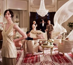The Great Gatsby sets